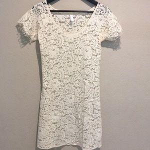 Anthropologie Zincke lace tunic